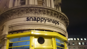"Ironically, a ""snapstore"" was close to the office ;-)"